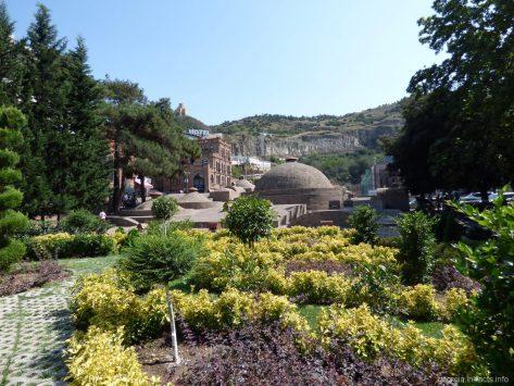 Рядом с серными банями в Тбилиси