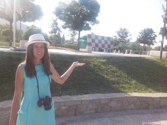 Шахматы на доске в парке Рике в Тбилиси