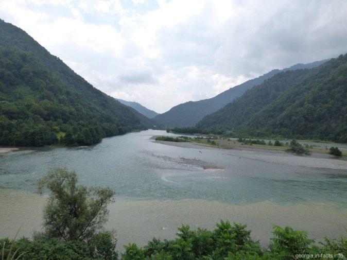 Слияние рек в Аджарии