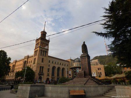 Станция Шота Руставели в Тбилиси