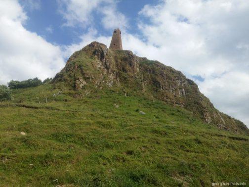 Сванская башня на Кавказе