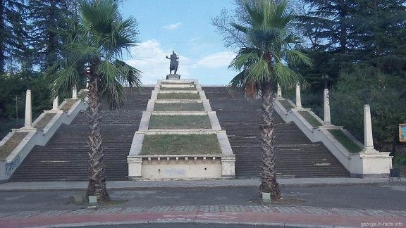 Центр города Кутаиси в Грузии