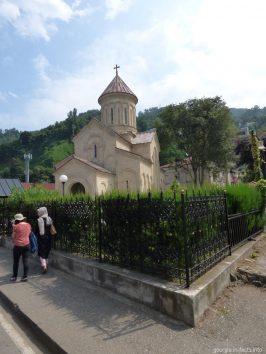 Церковь Андрея Первозванного в Сарпи