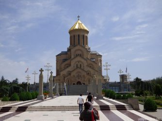 Церковь Самеба в городе Тбилиси
