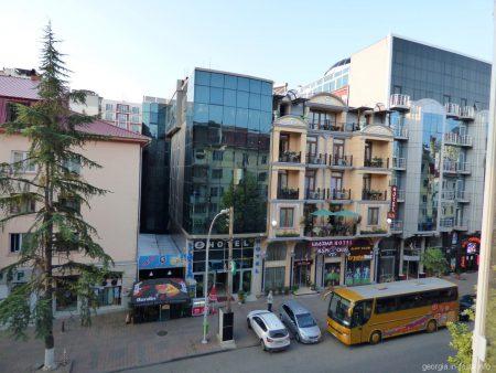 Так выглядит улица Горгиладзе в Батуми