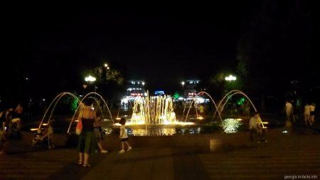 Танец фонтана в Батуми