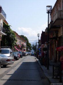Типичная улочка в Старом Батуми