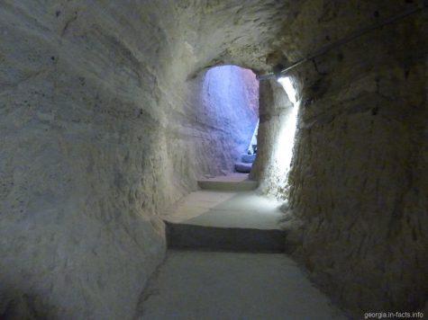 Типичный тоннель в Вардзии