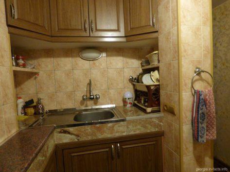 Удобства на кухне в Батуми