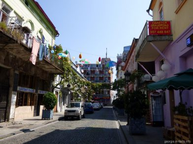 Улочка в Старом городе Батуми