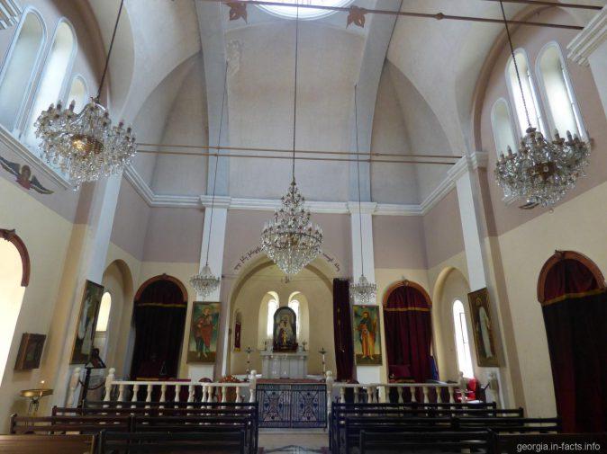 В армянской церкви в городе Батуми