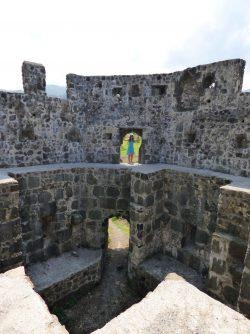 В одной из башен крепости Гонио