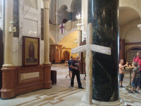 В соборе Святой Троицы, Тбилиси