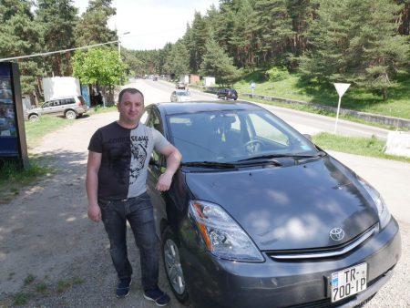 Валери, водитель из Гоутрипа, Грузия