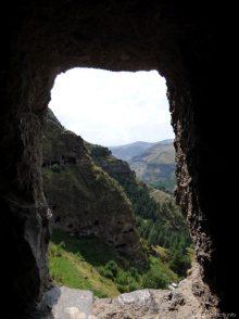 Вид из окна в Ванис Квабеби
