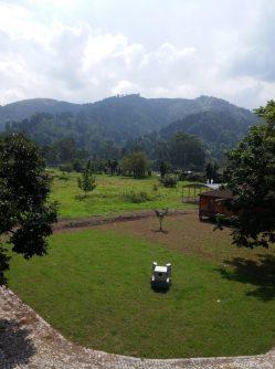 Вид на аджарские горы со стен крепости Гонио