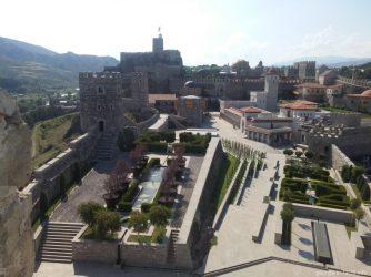 Вид на крепость Рабат с высоты