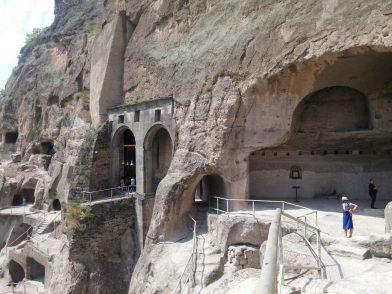 Вид на монастырь Успения Богородицы в Вардзии