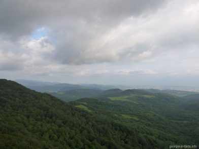 Вид с обзорной площадки Сатаплия