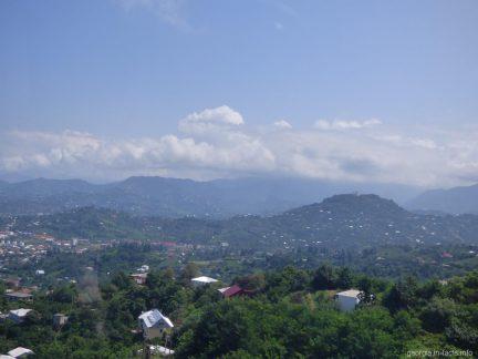 Виды с кабинки подвесной дороги в Батуми