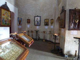 Внутреннее убранство Вознесенского собора в городе Ахалцих