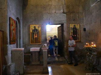 Внутреннее убранство храма Светицховели в Мцхете, Грузия