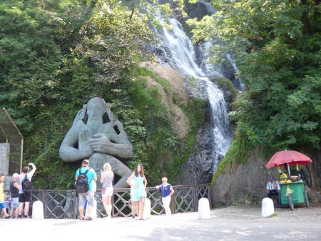 Водопад Святого Андрея Первозванного между Сарпи и Батуми