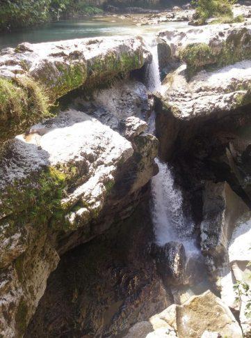 Водопады в Мартвили