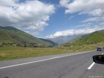 Военно Грузинская дорога из Тбилиси