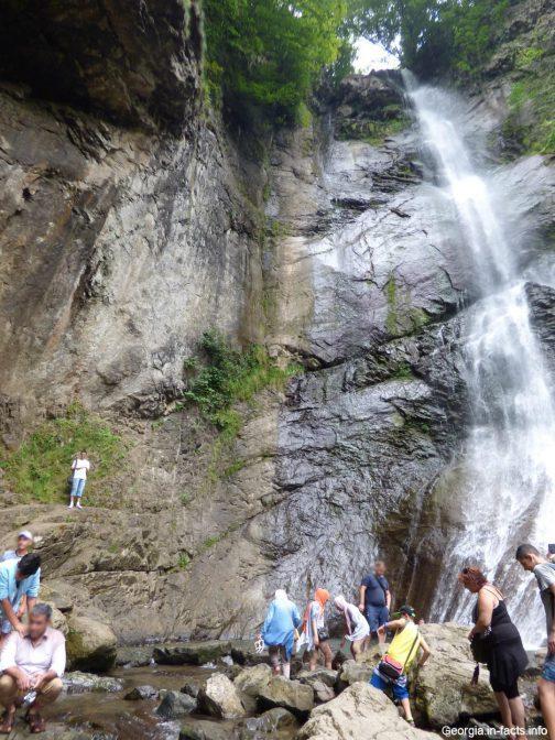 Жемчужина Аджарии водопад Махунцети