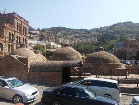 Знаменитые серные бани Тбилиси