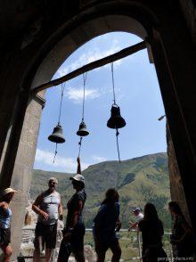 Звонница успенского монастыря в Вардзии
