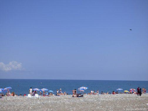 Море на курорте Батуми