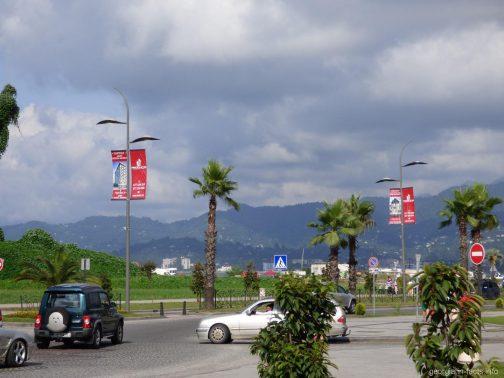 Вид на горы из Батуми