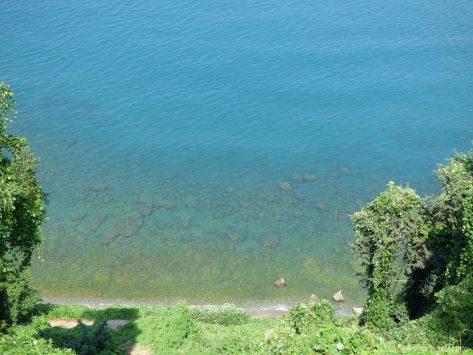 Кусочек моря у берегов Грузии
