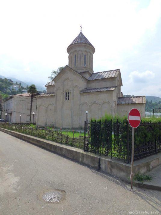 Небольшая православная церковь в Сарпи, Грузия