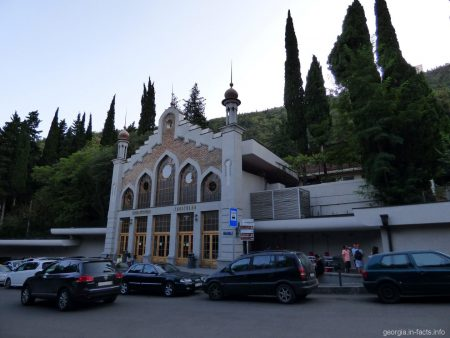 Нижняя станция фуникулера в Тбилиси