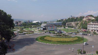 Площадь Европы в Тбилиси