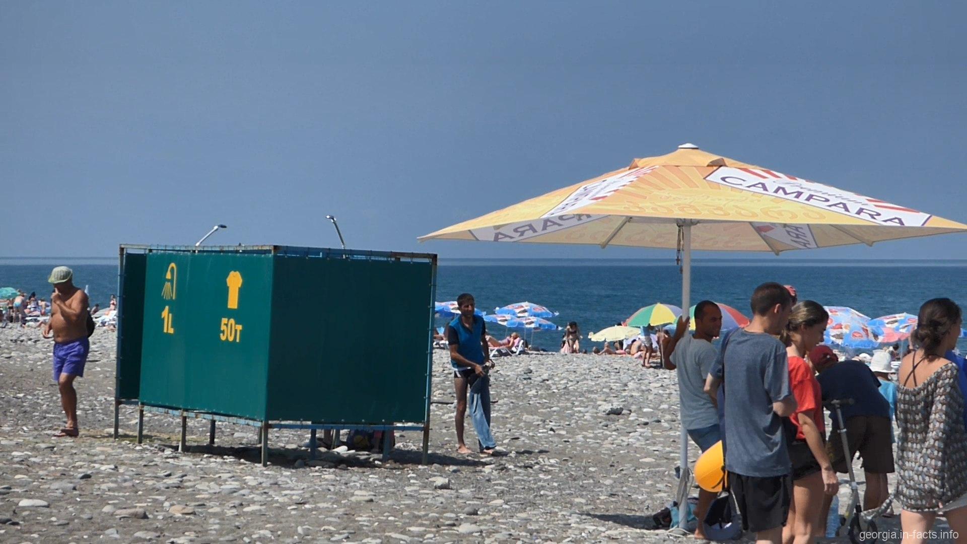 Любовь в пляжной кабинке