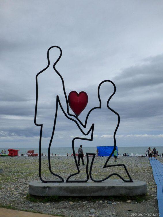Романтика вдоль набережной Батуми