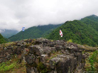 Вершина крепости Гвара, экскурсия Мачахела