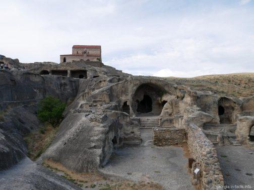 Каменные пещеры Уплисцихе, Грузия