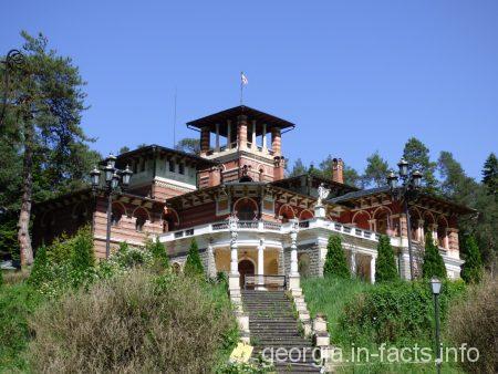 Дворец семьи Романовых в Ликани, Грузия