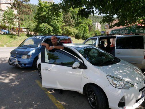 Водитель Армен, сервис гоутрип в Грузии