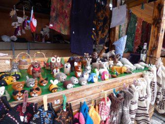 Игрушки из валяной шерсти в Мцхете, Грузия