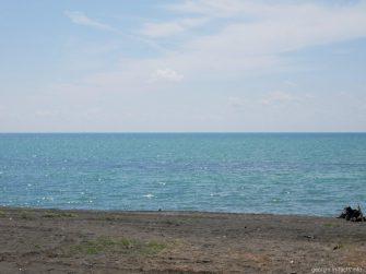 Море у берегов Шекветили, Грузия