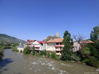 Небольшой городок Ахалцихе, Грузия