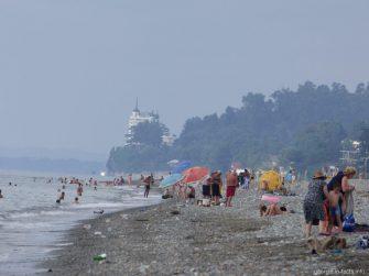 Пляжи Чакви, Грузия