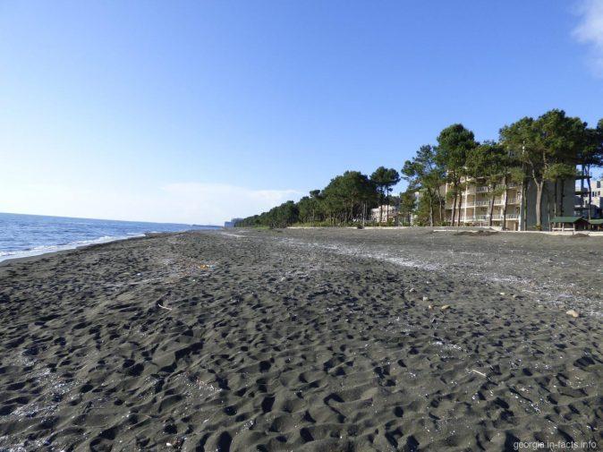 Пляжи Шекветили, Грузия