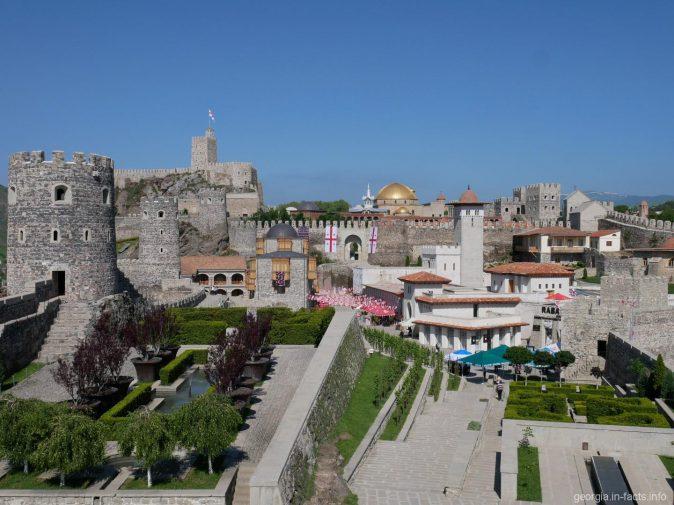 Территория крепости Рабат в Ахалцихе, Грузия